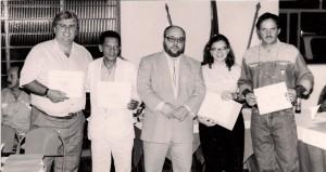 Como presidente do Lions após entrega de homenagens a frutalenses