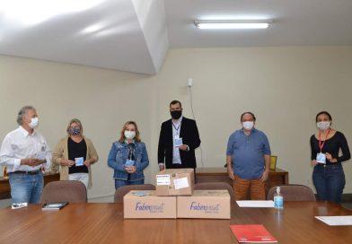 Prefeitura recebe doação de 5 mil máscaras reutilizáveis