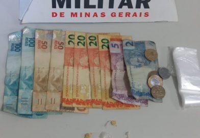 Três suspeitos de tráfico presos em Planura no final de semana
