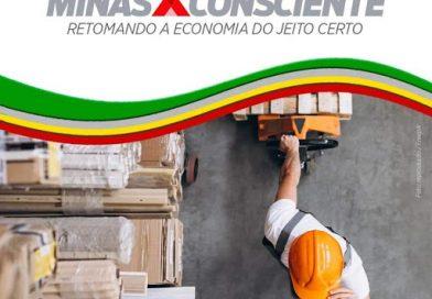 Atividades econômicas terão protocolo único na nova fase do Minas Consciente