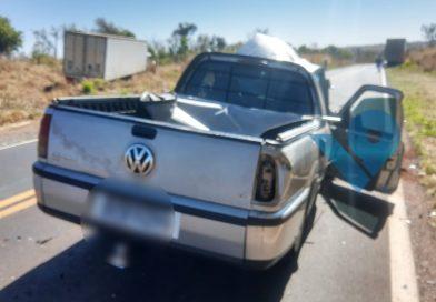 Acidente deixa vítima fatal entre Prata e Uberlândia