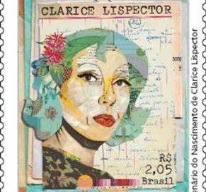 Centenário de Clarice Lispector é homenageado em emissão comemorativa