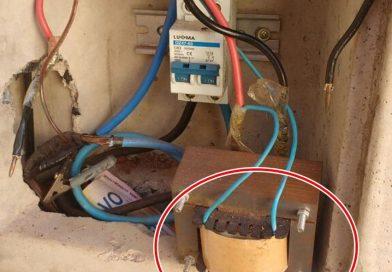 Mais um furto de energia descoberto em Fronteira