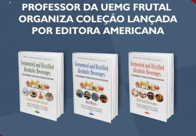 Professor da UEMG Frutal organiza coleção lançada por editora americana