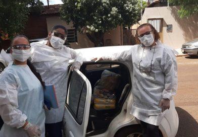 Prefeitura de Itapagipe distribui cestas básicas para famílias durante lockdown