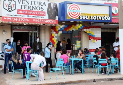 FRANQUIA CHIQUINHO SORVETES CHEGA EM FRONTEIRA E REALIZA AÇÃO SOCIAL