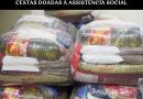 Vereadores buscam informações sobre cestas doadas à Assistência Social