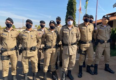 Novos soldados chegam à 4ª Cia. Independente de PM